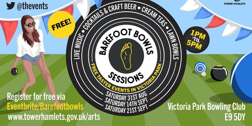 Barefoot Bowls Session 3  featuring BB James & DJ Maya 'OhCee' Diaz