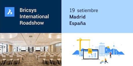 Bricsys International Roadshow: SPAIN entradas
