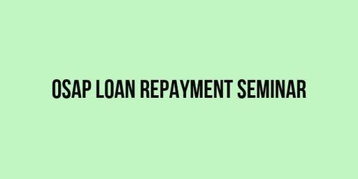 OSAP loan repayment: YU can be debt-free