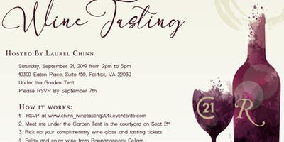Laurel Chinn Client Appreciation Wine Tasting