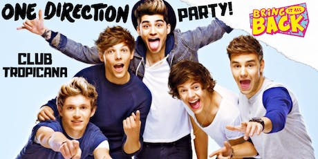 One Direction Party! Bring It All Back - Dundee tickets