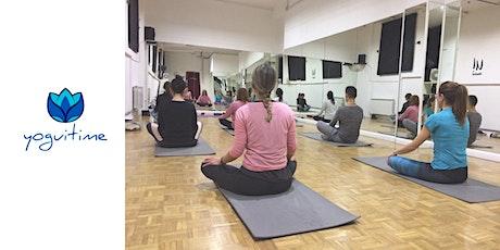 Hatha Yoga - Tirso de Molina - Clase de Prueba entradas