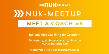Meet a coach #8 | NUK-Meetup  Tickets