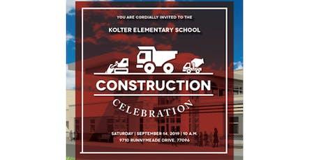 Kolter Construction Celebration tickets