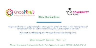 Emerging Proud through ******* - Story sharing circle