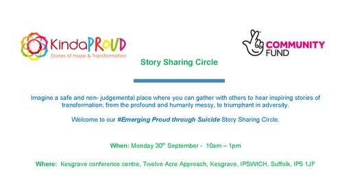 Emerging Proud through suicide - Story sharing circle
