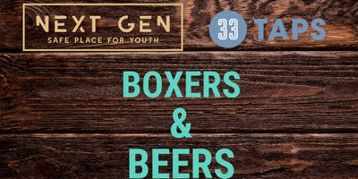 Boxers & Beers @ 33 Taps Silverlake