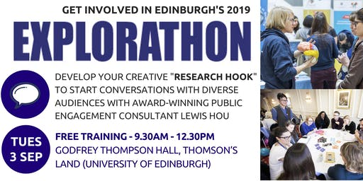 Explorathon Training : Finding a Research Hook