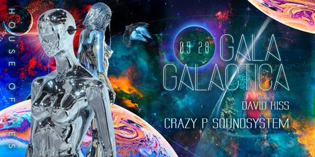 Gala Galactica with Crazy P Soundsystem tickets