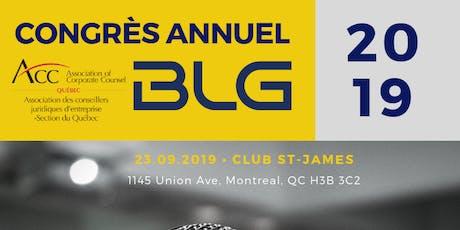 2e édition Congrès Annuel ACC Quebec billets