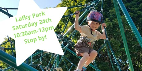 Final days of summer playdate with snack samples! tickets