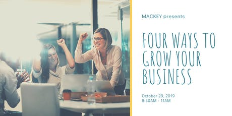 4 Ways to Grow Your Business Workshop tickets