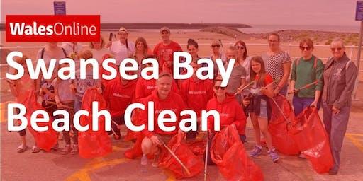 WalesOnline Swansea Bay Beach Clean