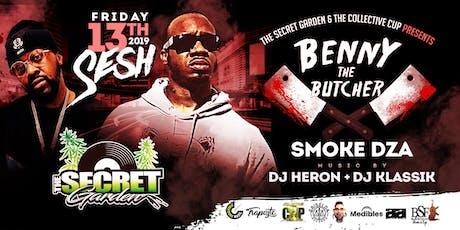 Benny The Butcher - Smoke Dza - Friday The 13th Sesh tickets