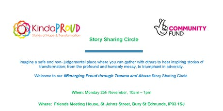 Emerging Proud through Trauma and Abuse - Story sharing circle tickets
