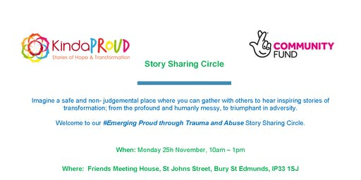 Emerging Proud through Trauma and Abuse - Story sharing circle