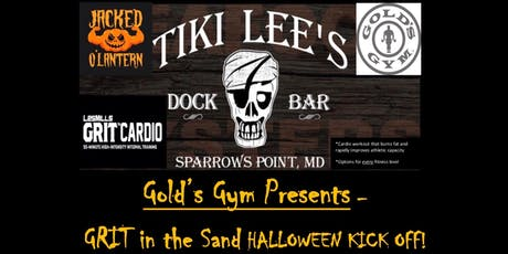 Gold's Gym & Tiki Lee's - Halloween GRIT, Drink, Food & FUN! tickets