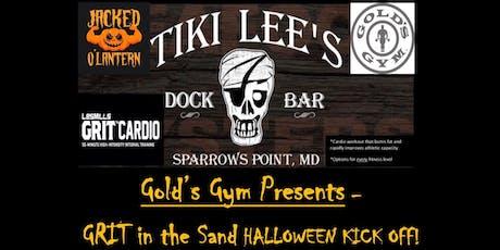 Gold's Gym & Tiki Lee's - Halloween GRIT, Drink, Food & FUN! tickets
