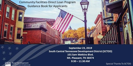 Community Facilities-Direct Loan Program Guidance Book for Applicants