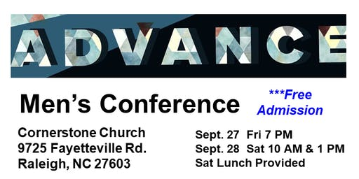 Men's Conference featuring Dynamic Speakers; Free Event
