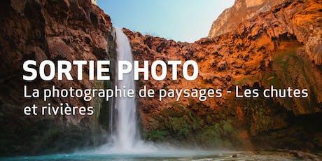 Sortie Photo // La photographie de chutes et de rivières billets