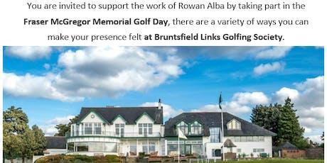 Rowan Alba - Fraser McGregor Memorial Golf Day tickets