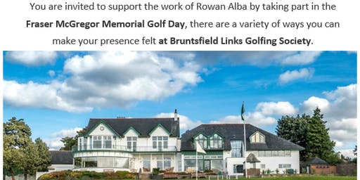 Rowan Alba - Fraser McGregor Memorial Golf Day
