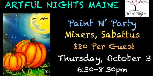 Paint N' Party at Mixers Nightclub & Lounge