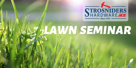 Fall Lawn Seminar tickets