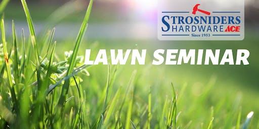 Fall Lawn Seminar