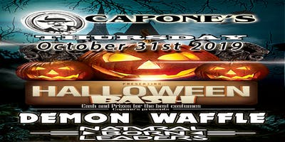 Halloween Bash with Demon Waffle and Natural Born Leaders