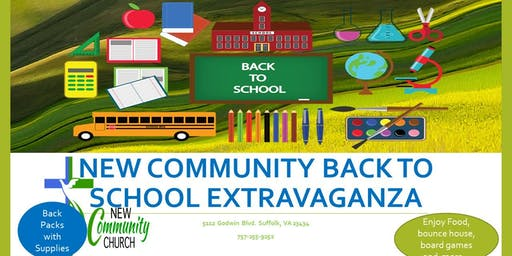 New Community Back to School