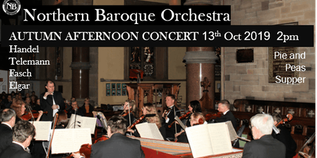 Northen Baroque Orchestra's Autumn Afternoon Concert tickets