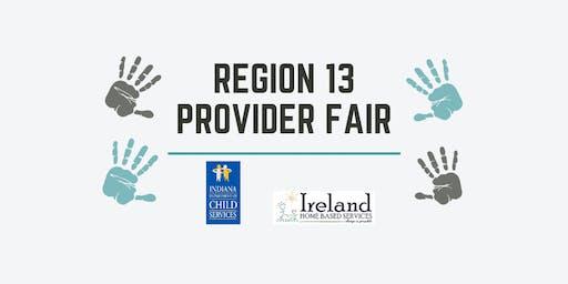 Region 13 Provider Fair 2019