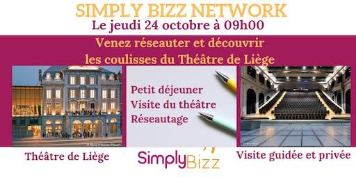Simply Bizz Network au Théâtre de Liège le 24 octobre