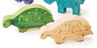 Creation Lab: Wooden Animal Puzzle Painting