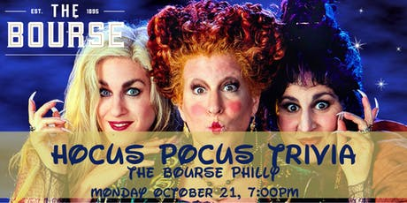 Hocus Pocus Trivia at The Bourse Philly tickets
