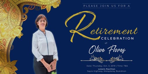 Olive's Retirement Party