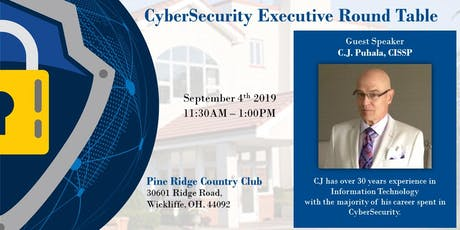 CyberSecurity Executive Round Table tickets