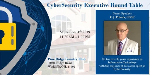 CyberSecurity Executive Round Table