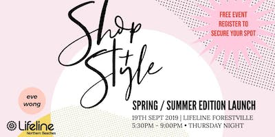 LIFELINE FORESTVILLE SHOP + STYLE NIGHT SPRING LAUNCH