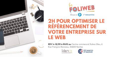 [Saint-Nazaire] 2h pour optimiser le référencement de votre entreprise sur le Web billets