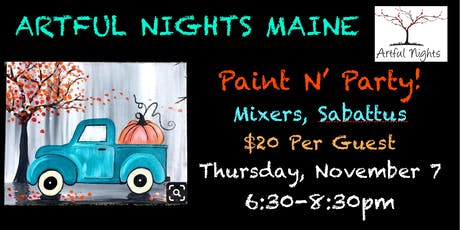 Paint N' Party at Mixers Nightclub & Lounge tickets