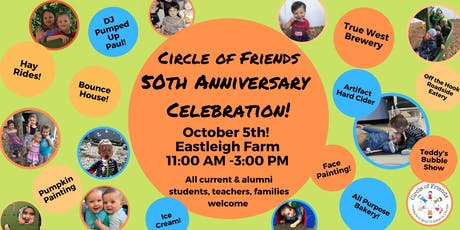 Circle of Friends 50th Anniversary Celebration tickets