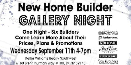 New Home Builder Gallery Night- 6 Premier Builders Under One Roof! tickets