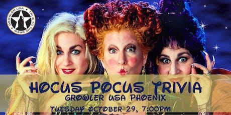 Hocus Pocus Trivia at Growler USA Phoenix tickets