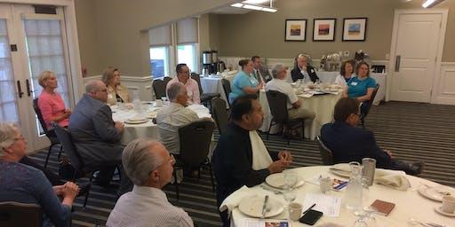The UPPER VALLEY Region's CORNERSTONE Pastors & Leaders Breakfast Briefing