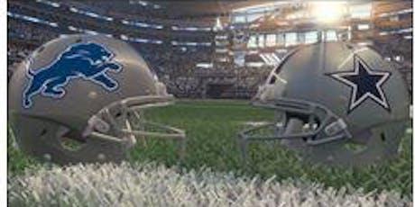 Dallas Cowboys vs Detroit Lions Bus Trip tickets