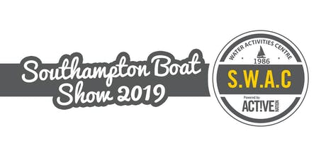 SWAC at Southampton Boat Show  Offers 2019 tickets
