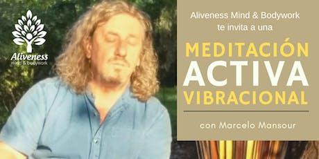 Meditación activa vibracional - Vibrational Meditation entradas